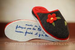 nouveau produit 4abab b5390 Rondinaud Fabricant de pantoufles charentaises